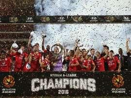 El Adelaide United del español Guillermo Amor, campeón de la Gran Final. AdelaideUnited