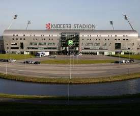 El Fortuna Sittard jugará por primera vez en el Carl Jeans Stadion en Eredivisie. ADODenHaag