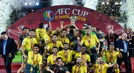 El Al Ahed puede presumir de ser el primer equipo libanés en conseguirlo. Twitter/AlAhedFc