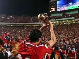 El Al-Ahly, actual campeón de la Copa Confederación CAF. Twitter