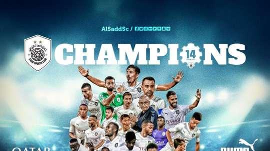 Xavi has now won 34 career titles. Al Sadd