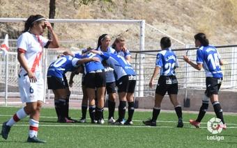 El Alavés se llevó la victoria ante el Rayo Vallecano. LaLiga
