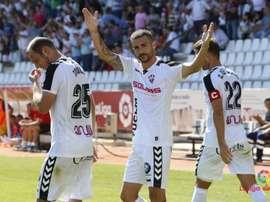 El Albacete pretende seguir ganando confianza a través de resultados. LaLiga