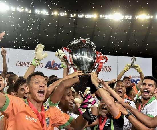 O América conquistou seu último título de campeão mineiro em 2016, pela 16ª vez. AmericaFutebolClube