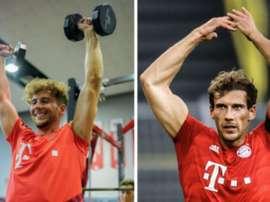 La transformation physique impressionnante de Goretzka avant/après confinement. FCBayern