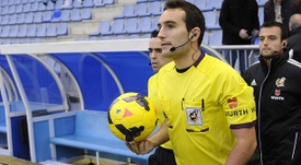 Arcediano Monescillo ha sido designado para el Tenerife-Cádiz. EFE/Archivo