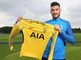 Paulo Gazzaniga, nuevo portero del Tottenham. TottenhamHotspur