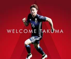 El Arsenal anuncia el fichaje del japonés Takuma Asano. Arsenal