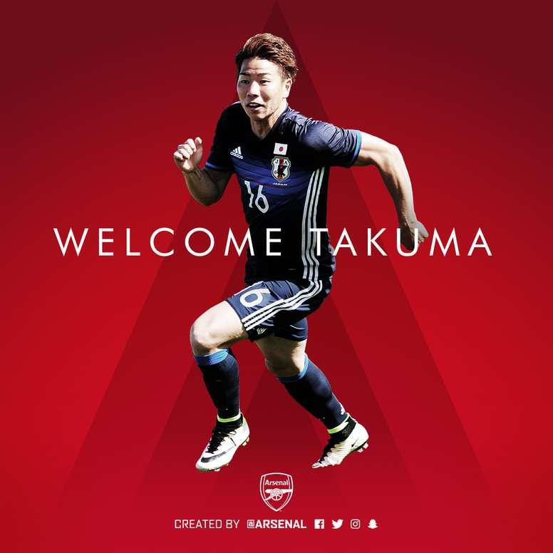 Arsenal have secured a deal for Japan striker Takuma Asano from Sanfrecce Hiroshima. Arsenal