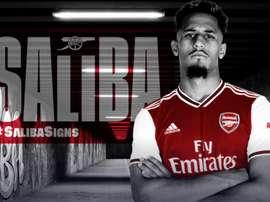 Arsenal compra Saliba e empresta ao Saint-Étienne. Arsenal