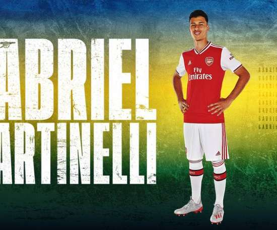 Arsenal assinou com Gabriel Martinelli, do Ituano. Twitter/Arsenal