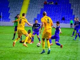 El Astana perdió por 0-1 ante el Kairat Almaty. FCA