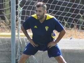 Perea espera lograr los tres puntos. CadizCF