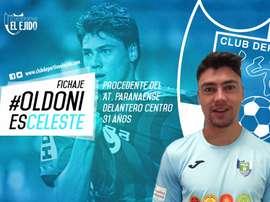 Pedro Henrique Oldoni, nuevo jugador de El Ejido. CDElEjido