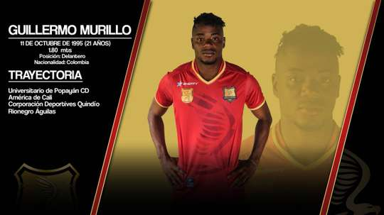 Guillermo Murillo, nuevo jugador de Rionegro Águilas. RionegroÁguilas