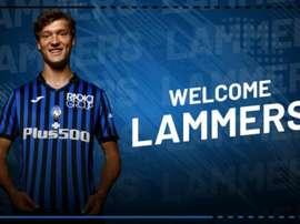 L'Atalanta s'offre le prodige Sam Lammers. Twitter/Atalanta_BC