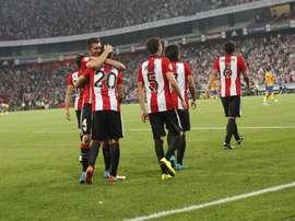 El Athletic buscará hoy ante el Zilina su pase a la Europa League. Twitter