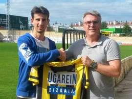 El Athletic Club confirmó la cesión del centrocampista Asier Parra. ClubPortugalete