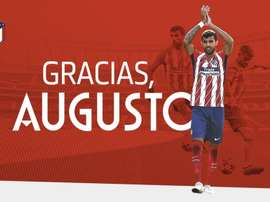 Augusto leaves Atletico for China. Atleti