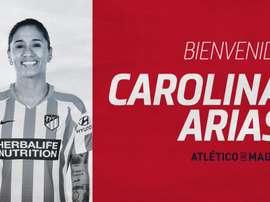 Calidad colombiana para el lateral derecho. Twitter/AtletiFemenino