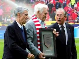 Griffa, história do Atlético. EFE