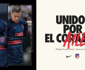 Atlético have released their away kit. Screenshot/Atleti