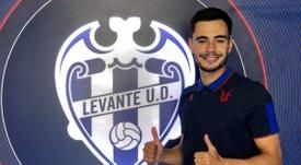 El Atlético Levante anunció la contratación de Blas Alonso. AtléticoLevante