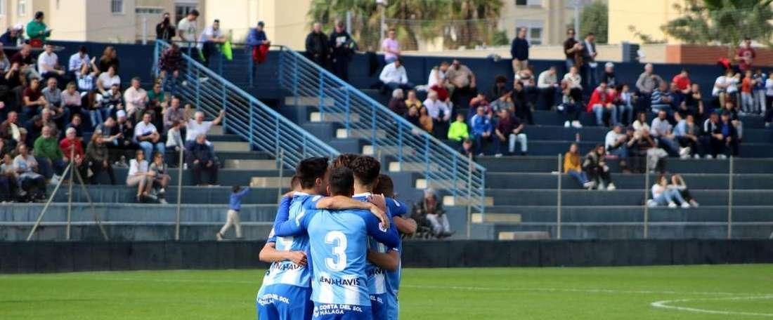 El Atlético Malagueño consiguió su primera victoria. BeSoccer/JuanjoRamos