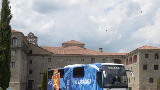 El Zaragoza cerró una primera etapa de trabajo. Twitter/RealZaragoza