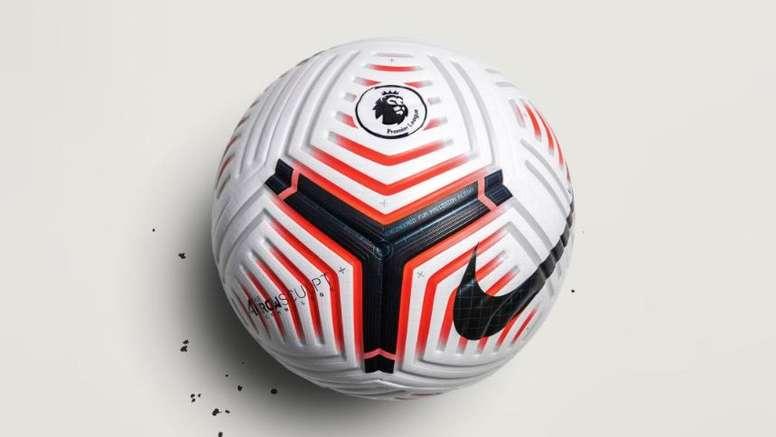 The new Premier League ball has been announced. Twitter/PremierLeague