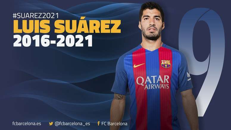 Barcelona have confirmed the news. FCBarcelona/Twitter