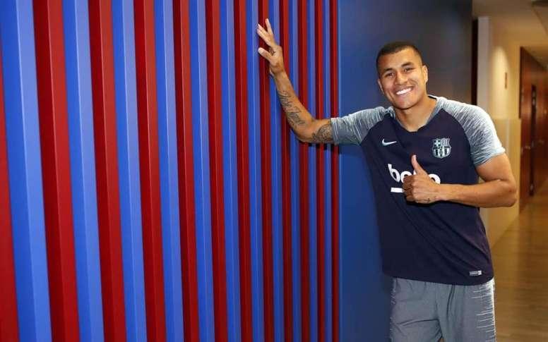 Jeison Murillo, renfort hivernal du Barça. FCBarcelone