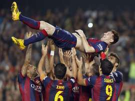 It's been five years since Messi beat Zarra's record; he's almost doubled his numbers since. EFE
