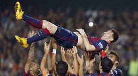 Hace cinco años que Messi superó a Zarra y ya casi le dobla. EFE