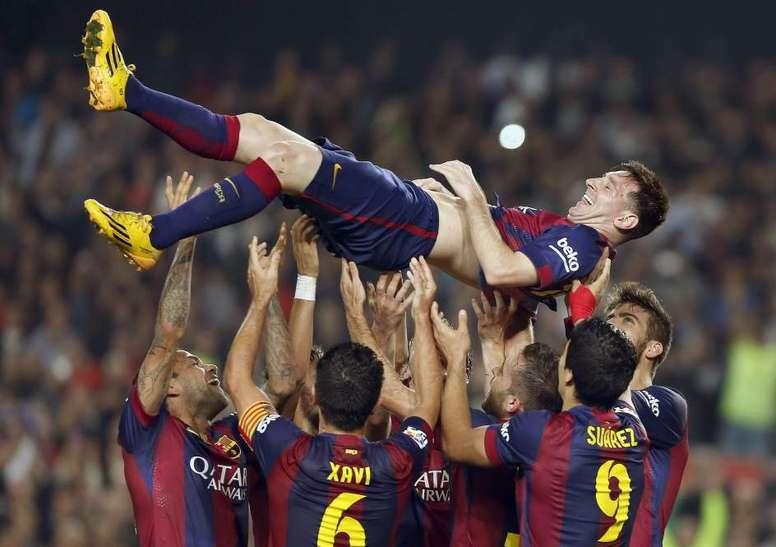 Il y a cinq ans Messi battait le record de Zarra et l'a déjà presque doublé. EFE