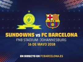 Mamelodi Sundowns y Barça jugarán para homenajear a Mandela. FCBarcelona