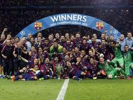 Rakitic spoke about Barcelona's last treble win. FCBarcelona