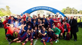 El Barça cuida su cantera. FCBMasia