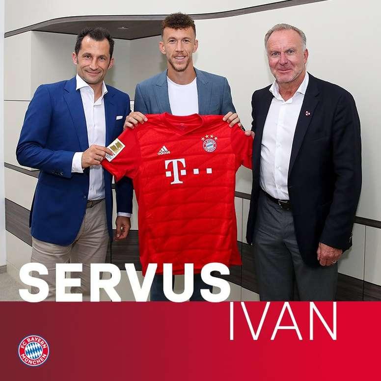 OFICIAL: Perisic, nuevo jugador de Bayern. Twitter/RFCBayern