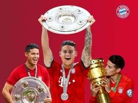 Le Bayern a confirmé les adieux de James. FCBayern