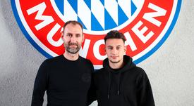 Nicolas-Gerrit Kühn, atacante de 20 anos, assinou com o Bayern de Munique. FCBayern