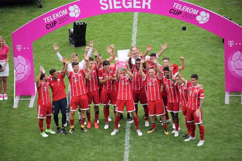 El Bayern de Múnich conquistó la Telekom Cup. FCBayern