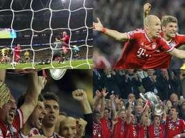Seis años de la obra cumbre del Bayern de Robben y Ribéry, la Champions 2013. EFE