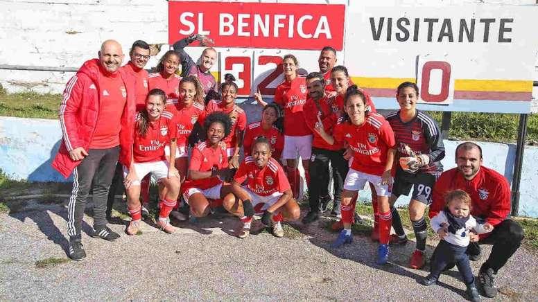 El Benfica Femenino hace historia. BenficaSL
