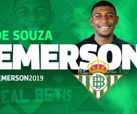 O Bétis anunciou a chegada do brasileiro por empréstimo. RealBetisBalompié