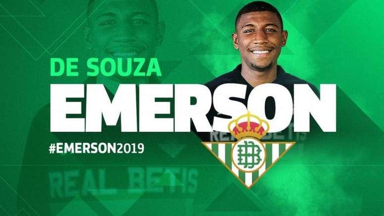 Emerson recalará en el Barcelona, pero antes en el Betis. RealBetisBalompié