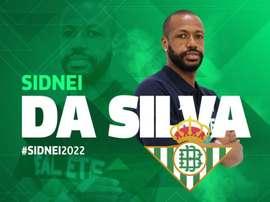 Sidnei rejoint le Betis. RealBetis