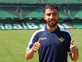 Yassin Fekir accompagne son frère. Real Betis