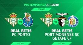 El Betis confirmó su presencia en el Torneo Ibérico. RealBetis