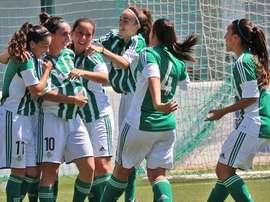 El Betis le ganó al Granadilla por 2-3. RBBFéminas